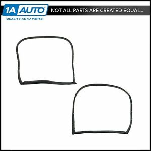 T top Hatch Weatherstrip Seal Rubber Kit Pair Set For 69 77 Chevy Corvette