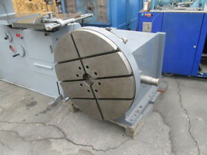 36 Heavy Duty Rotary Table For A Big Milling Machine Or Grinder