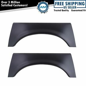 Rear Quarter Panel Patch Pair For Ford Bronco Pickup Truck F150 F250 F350