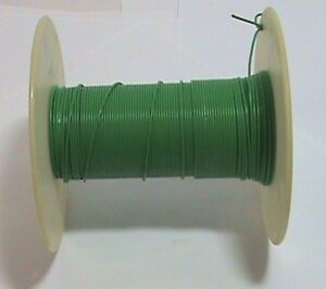 300 Feet 18 Awg 300 Volt Stranded Wire Green