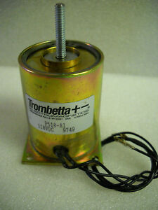 Trombetta Electromagnetics P510 a1 Solenoid Assembly 110vdc New Condition No Box