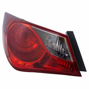 Outer Rear Taillight Taillamp Driver Side Left Lh Fits 11 13 Hyundai Sonata New