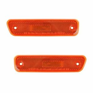Front Bumper Side Marker Parking Light Lamp Pair Set Kit For 99 04 Chevy Tracker