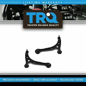 Front Lower Control Arms W Ball Joints Pair Set New For 99 04 Honda Odyssey