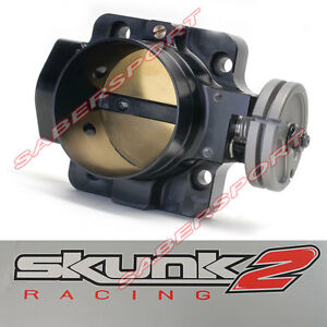 Skunk2 70mm Pro Series Black Throttle Body For Honda B d h Engine W pro Manifold