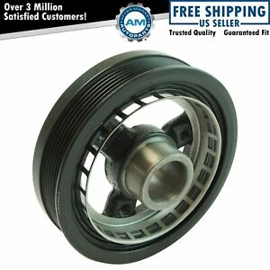 Harmonic Balancer Belt Drive Pulley For Chevy Oldsmobile Buick Pontiac