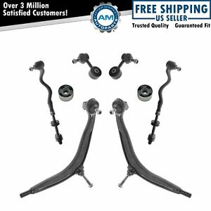 Front Control Arms Ball Joints Tie Rod Ends Suspension Kit For Bmw 3 Series E36