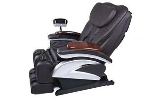 Full Body Shiatsu Massage Chair Recliner w/Heat  Stretched Foot Rest  06C