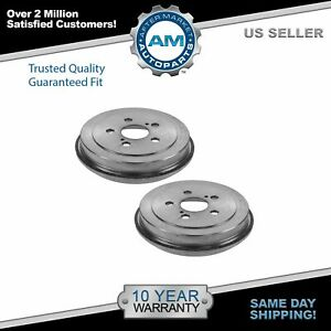 Nakamoto Brake Drum Rear Left Lh Right Rh Pair For Toyota Celica Corolla Prius
