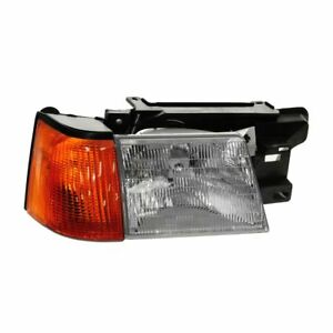 Headlight Headlamp Right For Mercury Lynx Ford Escort Exp