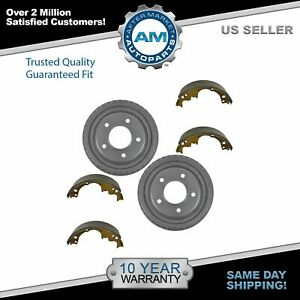 Car Rear Brake Drum Shoe Kit Set Left Lh Right Rh For Chevy Gmc Olds Van Suv