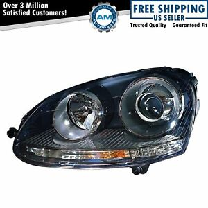 Hid Headlight Headlamp Left Driver Side Lh For Vw Volkswagen Gti Rabbit