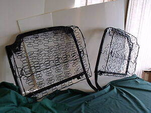 1955 1956 Ford Crown Victoria Convertible Front Seat Backs Fomoco 55 56