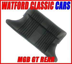 Mgb Gt Pair Rear Seat Cover All Years Leather Look Black black