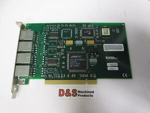 National Instruments Pci 232 4 Channel Serial Pci Board10p10c Interface