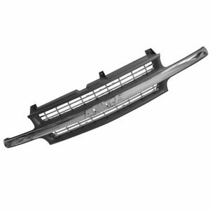Chrome Black Front Trim Grille Grill For Chevy Silverado 1500 2500 3500 Pickup