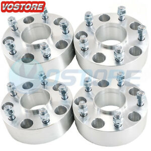 4 2 Hubcentric Wheel Spacers 5x5 5 Adapters 9 16 Studs For Dodge Ram 1500