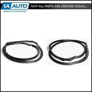 Full Door Weatherstrip Rubber Seal Set Of 2 Pair For 97 06 Jeep Wrangler