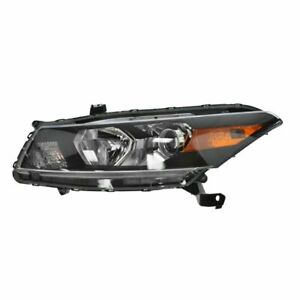 Headlight Headlamp Driver Side Left Lh For 08 10 Honda Accord 2 Door Coupe