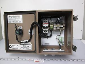 Electrical Enclosure Control Cabinet 10x8x6 On off Switch Terminal Project Box