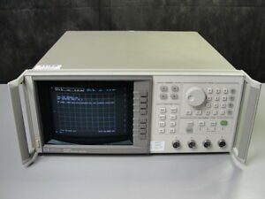 Agilent Hp 8757d Network Analzer 110 Ghz Scalar With Option 001