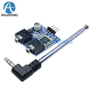Tea5767 Fm Stereo Radio Module For Arduino 76 108mhz With Free Cable Antenna