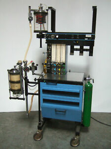 North American Drager Narkomed Ii 2 Anesthesia Machine