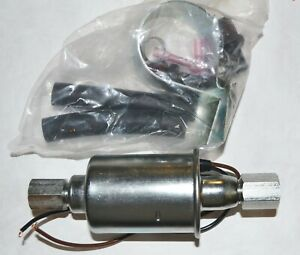 Diesel Fuel Pump Universal Electric 10 14psi 35gph Free Flow 3 8 Inlet Outlet