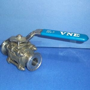 Vne 1000 Wog 1 Inch Dn25 Stainless Steel Ball Valve pzb