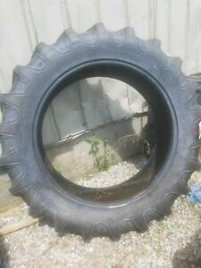 Two 15 5x38 Farmall 756 R 1 Bar Lug 8 Ply Tractor Tires