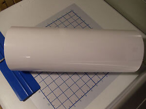 White Vinyl 15 Width Roll sign Decal Sheet high Gloss by The Foot