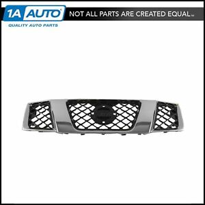 Grille Assembly Chrome Black Front For Nissan Frontier Pathfinder