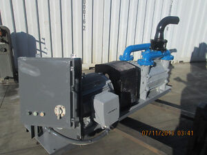 75 Hp Sutorbilt Liquid Ring Vacuum Pump W Motor Skid And Controls