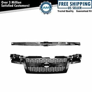 Brand New Grille With Chrome Bar Molding For Chevy Colorado 2004 2012 New