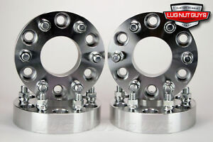 4 Wheel Spacers 1 25 Thick Fits Six Lug Toyota Tacoma Fj Cruiser 4runner