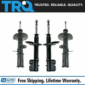 Trq Strut Assembly New Set Of 4 Complete Kit For Chevy Geo Prizm Toyota Corolla