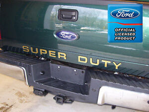 2008 Ford F250 Super Duty Tailgate Inserts Letters Decals Stickers Vinyl F350