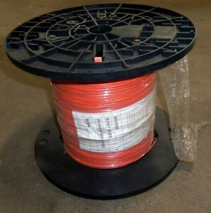 Bergan 16 Awg 500 Foot 1 Conductor Cable New