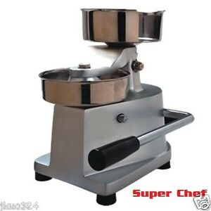 New 5 Manual Patty Press Hamburger Machine