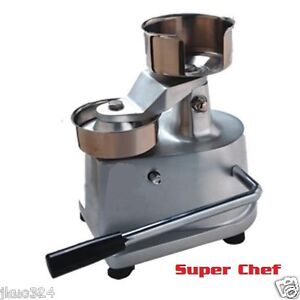 New 4 Manual Patty Press Hamburger Machine