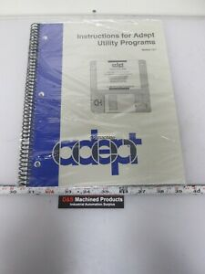 Adept Tech 00962 01000 Rev A Instructions For Adept Utility Programs Ver 12 1