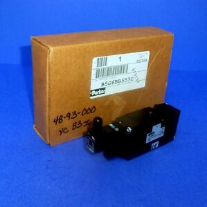 Parker 115volts 145psi 1 4in Npt 3 Ports Solenoid Valve B5g6bb553c new In Box