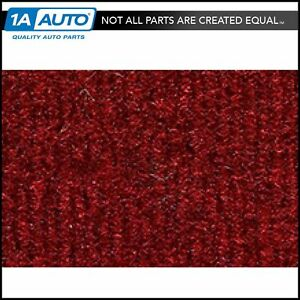 For 1987 95 Jeep Wrangler Cutpile 4305 oxblood Complete Carpet Molded