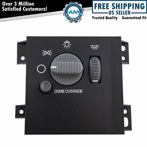 Headlight Lamp Dome Dimmer Interior Switch For Chevy Gmc Oldsmobile