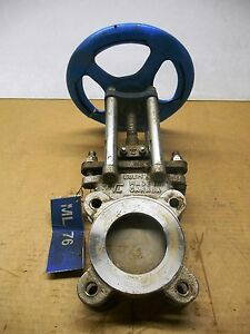 Trueline Knife Gate Valve 3 Stainless 4 Bolt Used