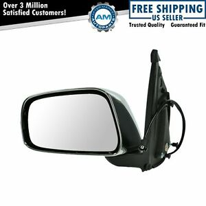 Chrome Power Mirror Left Lh Driver Side For Nissan Frontier