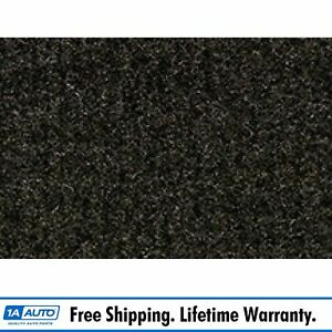 For 1987 88 Toyota Corolla Fx Cutpile 897 Charcoal Passenger Area Carpet Molded