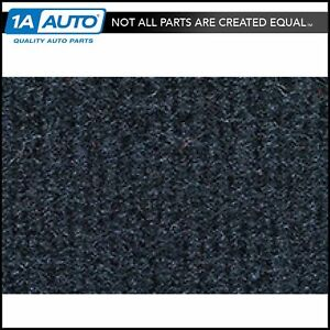 For 1987 88 Toyota Corolla Fx Cutpile 840 Navy Blue Passenger Area Carpet Molded