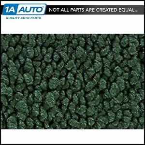 For 1969 Chevy Corvette 80 20 Loop 08 dark Green Passenger Area Carpet Molded