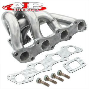 T25 t28 gt28 Stainless Steel Turbo Manifold For Nissan 240sx S13 14 Ka24de